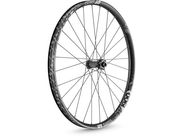 "DT Swiss H 1900 Spline Front Wheel Tyre 27,5""/35mm Carbon IS 6bolt 110/15mm TA Boost, black/white"